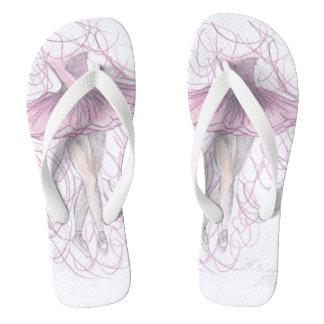 Ballerina13 KblyArt Women Flip Flops