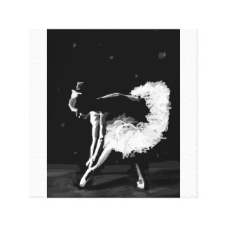 Ballerina Art Canvas Print