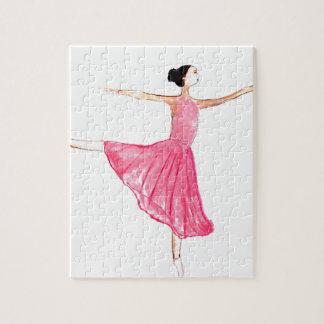 Ballerina Ballet dancer Jigsaw Puzzle