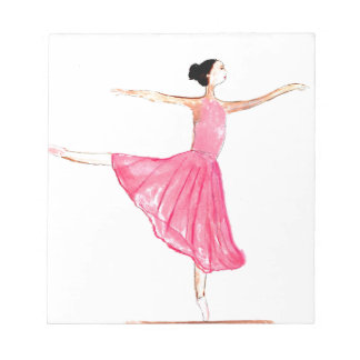 Ballerina Ballet dancer Notepad