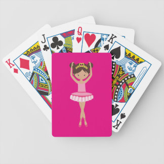 Ballerina Bicycle Playing Cards