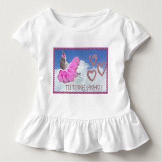 Ballerina Birdie Toddler T-shirt