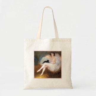 Ballerina & Black Cat Tote Bag