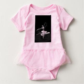 Ballerina Body Suit Baby Bodysuit