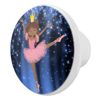 Ballerina Cabinet Knob Ceramic Knob