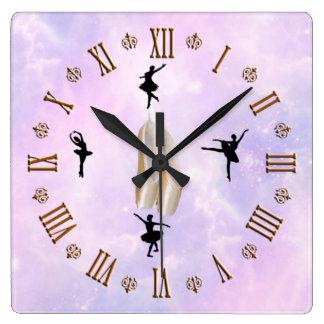 Ballerina clock