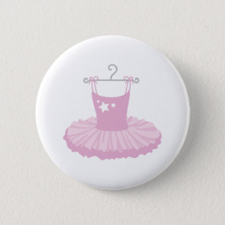 Ballerina Costume 2 Inch Round Button