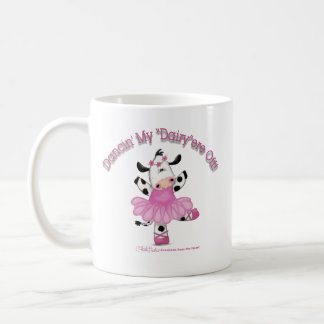 Ballerina Cow Coffee Mug
