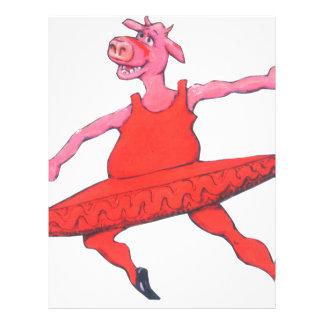 Ballerina Cow Letterhead
