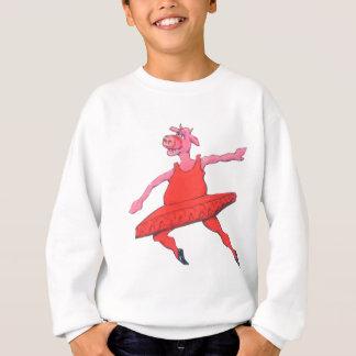 Ballerina Cow Sweatshirt