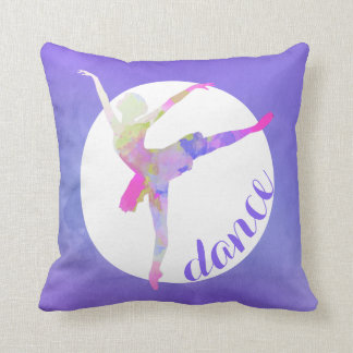 Ballerina Dance Accent Pillow
