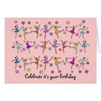 Ballerina Dance Birthday Card