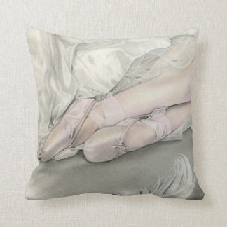 Ballerina Dance of the Swan Pillow