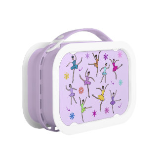 Ballerina Dance Personalized Name Lunch Box