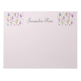 Ballerina Dance Personalized Notepads