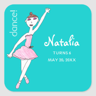 Ballerina Dance Stickers