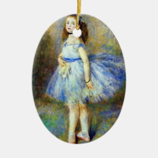 Ballerina Dancer Ceramic Ornament