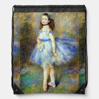 Ballerina Dancer Renoir Fine Art Backpack