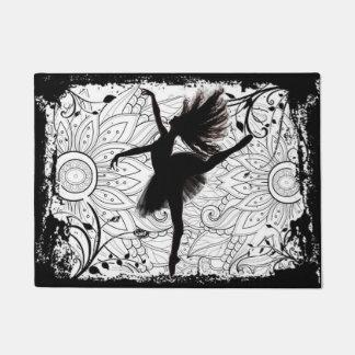 Ballerina door mat