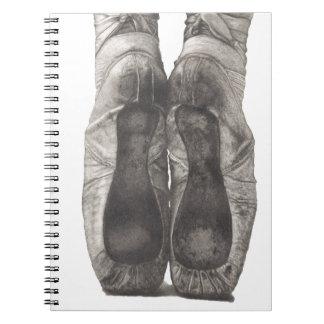 Ballerina en Pointe Spiral Notebook