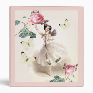 Ballerina Fairy Binder