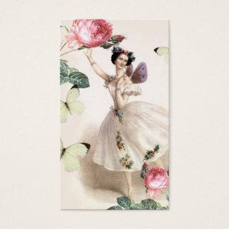 Ballerina Fairy Business Card