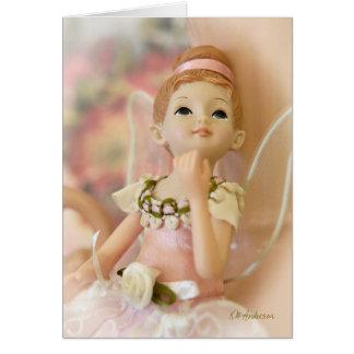 Ballerina fairy I Card
