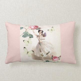Ballerina Fairy Lumbar Pillow