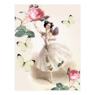 Ballerina Fairy Postcard