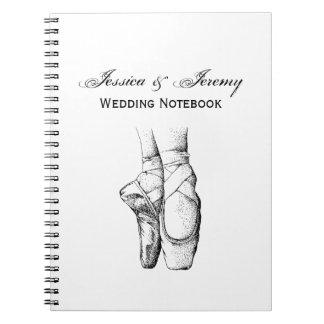 Ballerina Feet on Pointe #1 Spiral Note Book