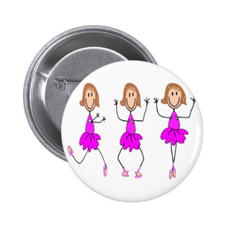 Ballerina Gifts--Adorable 2 Inch Round Button
