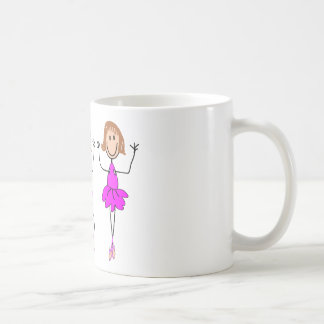 Ballerina Gifts--Adorable Basic White Mug