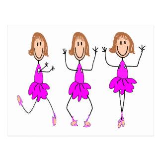 Ballerina Gifts--Adorable Postcard
