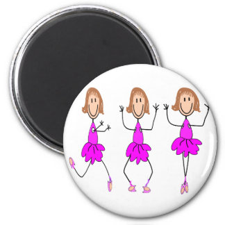 Ballerina Gifts--Adorable Refrigerator Magnet