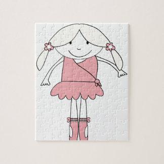 Ballerina Girl Jigsaw Puzzle