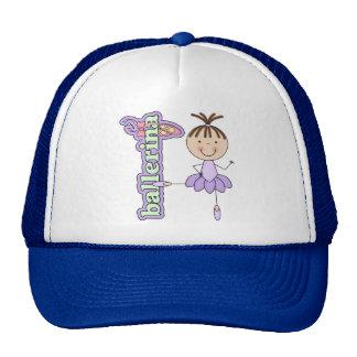 Ballerina Girl Lavender Trucker Hat