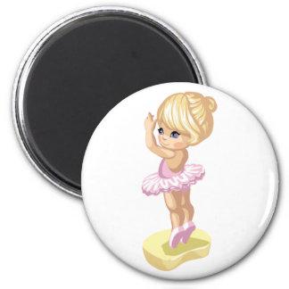 Ballerina Girl Magnet