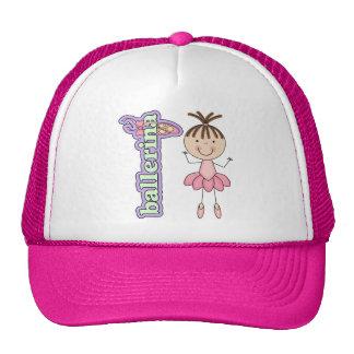 Ballerina Girl Pink Trucker Hat