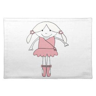 Ballerina Girl Placemat