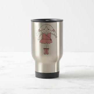 Ballerina Girl Travel Mug