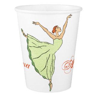 Ballerina Grace  Graceful Ballerina Paper Cup