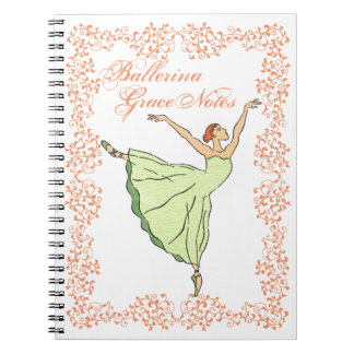 Ballerina Grace Notes Notebook
