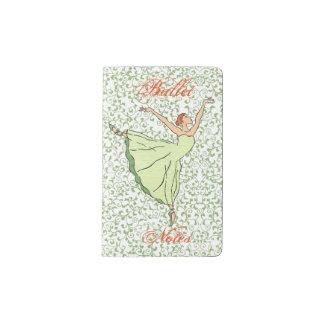 Ballerina Grace Pocket Moleskine Notebook