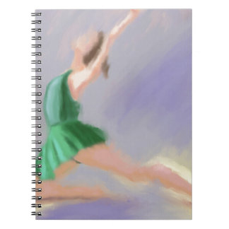 Ballerina Grace Spiral Notebooks