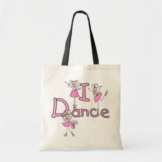 Ballerina I Dance T-shirts and Gifts Canvas Bag