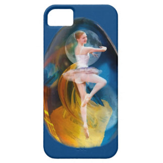 Ballerina in Alien Galaxy Case For The iPhone 5
