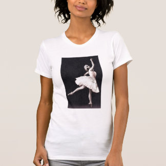 Ballerina in Antique  Ruffles T-Shirt
