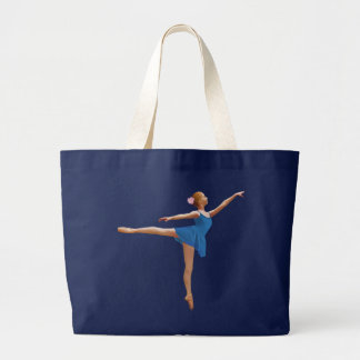 Ballerina in Arabesque Position Tote Bag