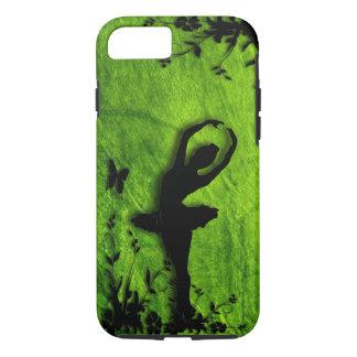 Ballerina in Garden Green iPhone 8/7 Case