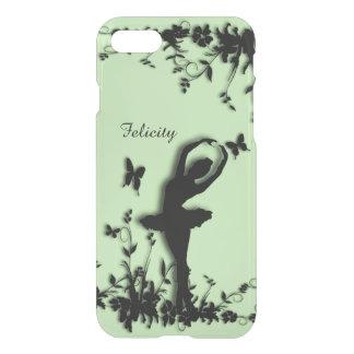Ballerina in Garden Green Personal iPhone 7 Case